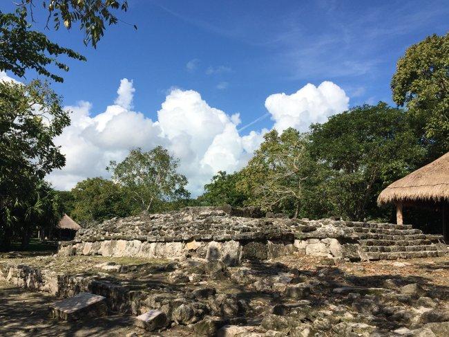 San Gerasivo Isla Cozumel mayn ruins