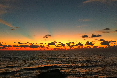 ocean view at sunrise - Isla Mujeres