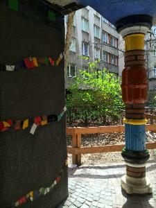 Column Hundertwasserhaus