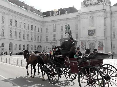 Wien Hofburg Kutsche
