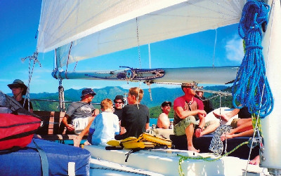 sailing group travel