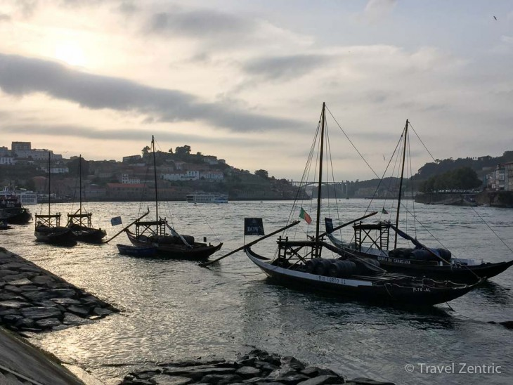 Rabelos on river Douro Porto