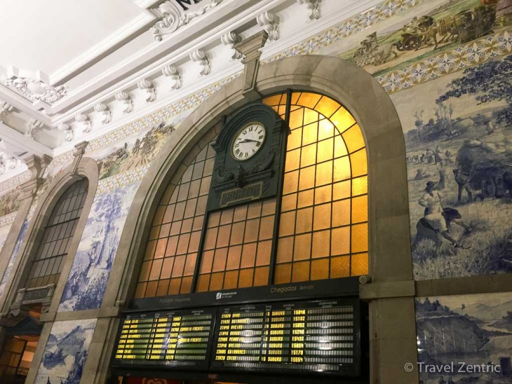 Sao Bento train station Porto