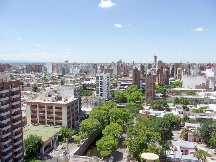 Cordoba Argentina downtown city centre