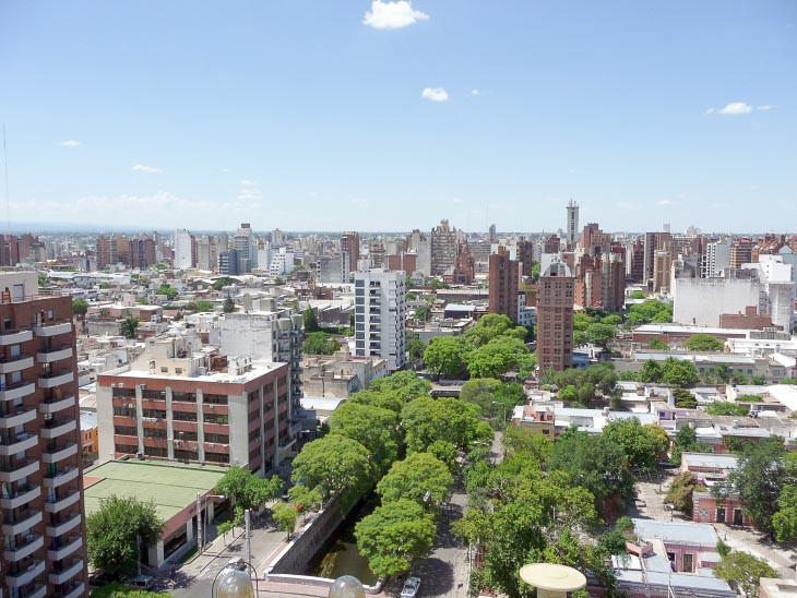 Cordoba Argentina downtown city centre