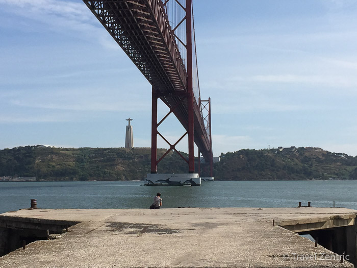 Ponte 25 de Abril suspension bridge Lisbon