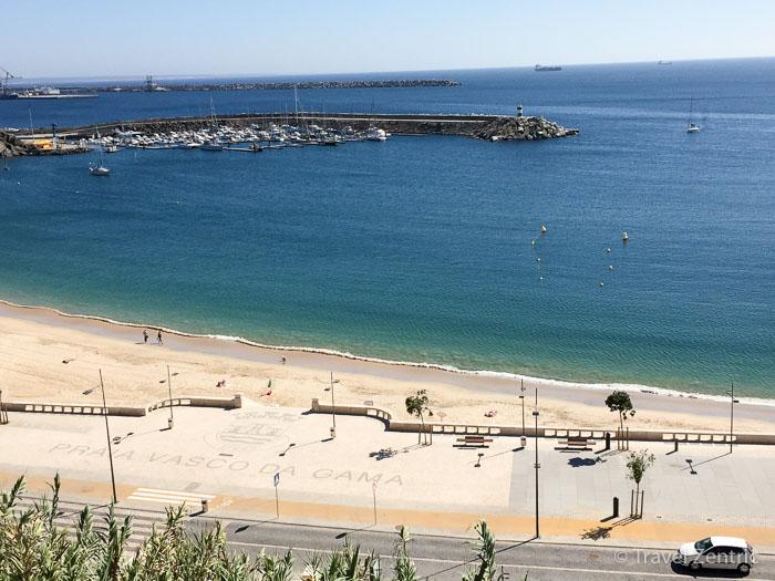 Praia Vasco da Gama, Beach, Sines