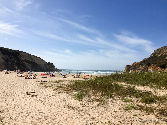 Praia do Carvalhal Alentejo Portugal Strand