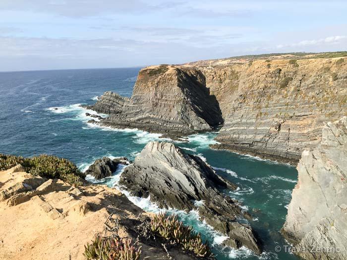 Costa Vicentina Alentejo Portugal Steilküste
