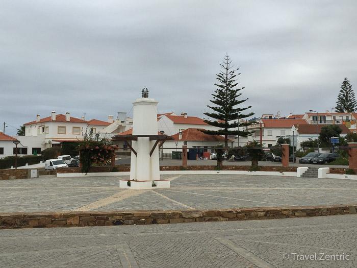 Zambujeira do Mar Alentejo Portugal town centre