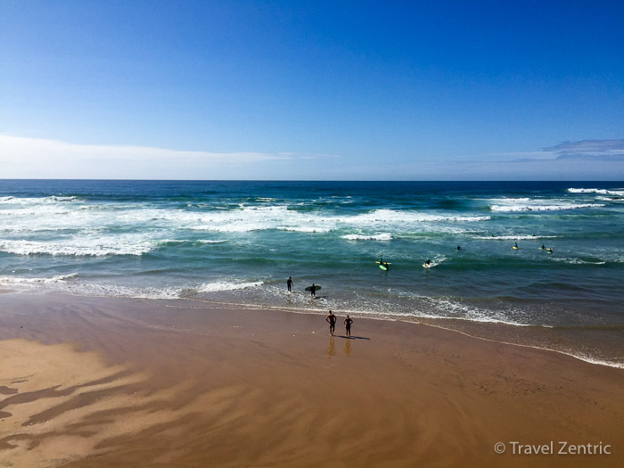 surfing praia de odeceixe algarve portugal surfen Südwesten