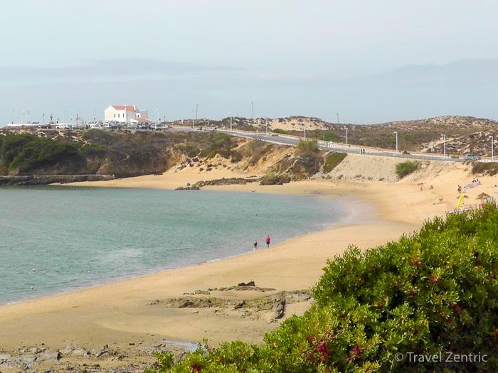 beach mila nova de milfontes alentejo portugal