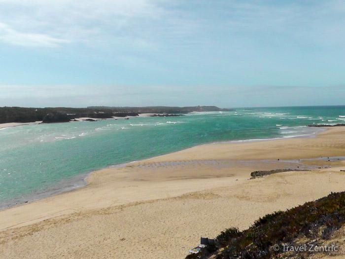 Vila nova de milfontes beach alenejo portugal nature