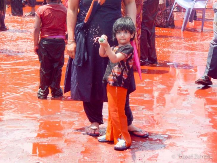 Holi India Hyderabad celebrate