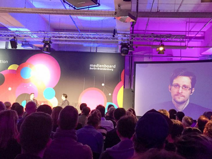 media convention berlin, republica 2016, rpten, edward snowden
