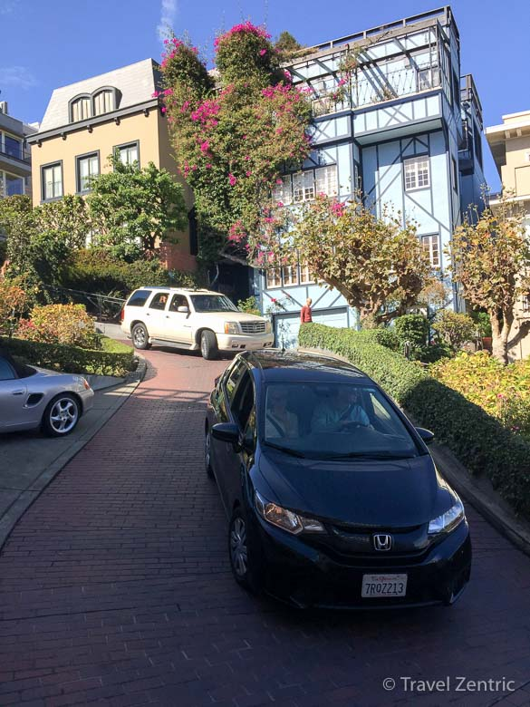 San francisco, lombard street, usa