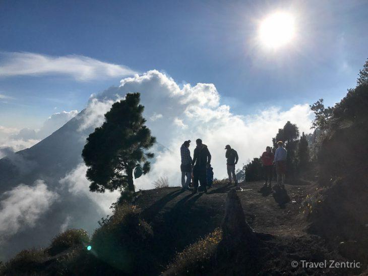 volcano fuego acatenango nature guatemala