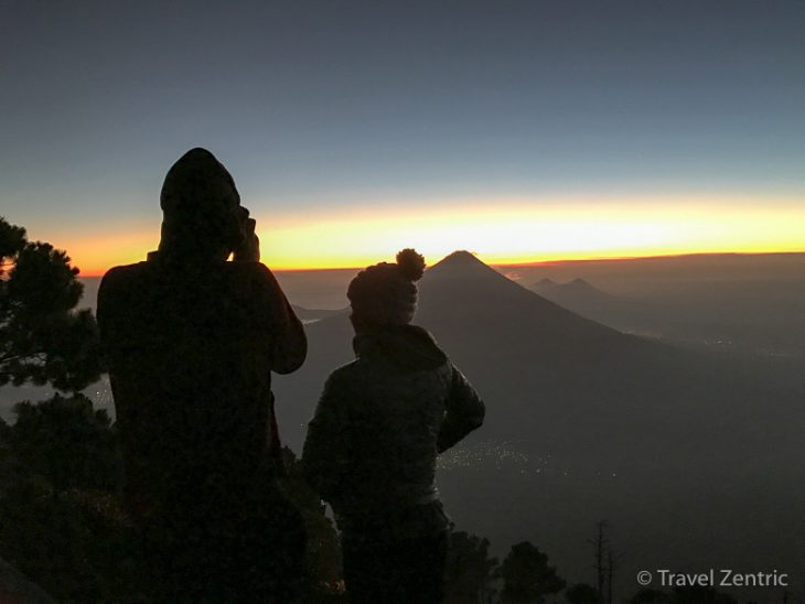 volcano agua acatenango nature guatemala