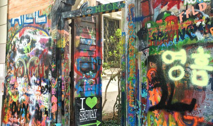 Prague Prag Lennon Wall Top 10