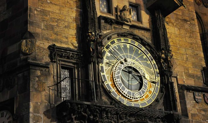 Prague Prag Clock Top 10