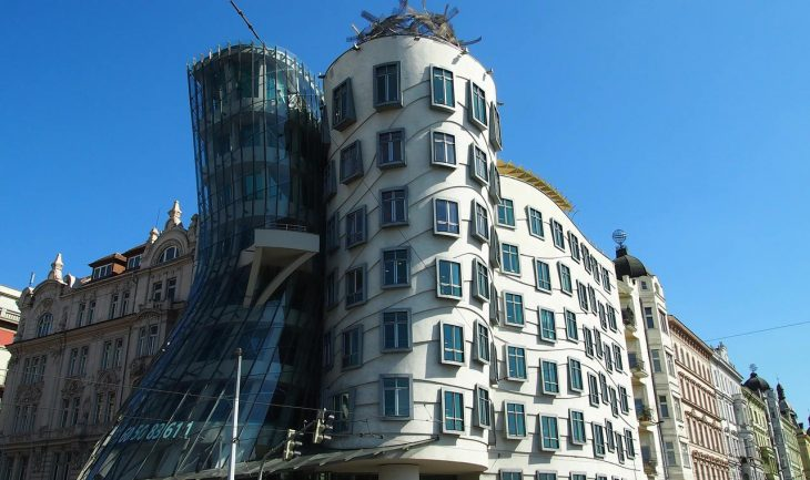 Prague Prag Dancing House Top 10